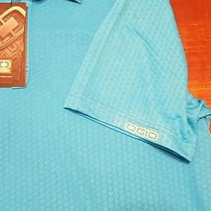 OGIO Shirts - Ogio SZ 2XL aqua golf polo NWT
